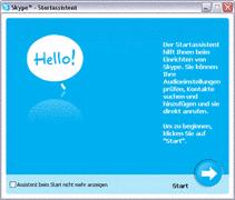 Skype - Erster Start und Registrierung